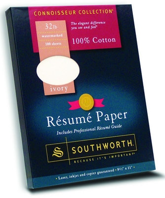 Southworth 100% Cotton Resume Paper 100 Sheets