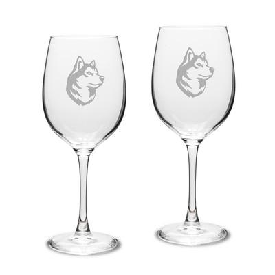 Northeastern White Wine Glass 2pk