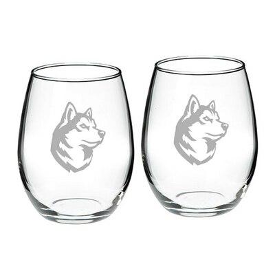 Northeastern Stemless Wine Glass 2-Pack