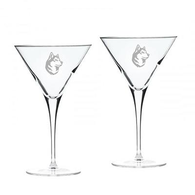 Northeastern Martini Glass 2pk