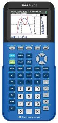 TI84 CE True Blue Calculator