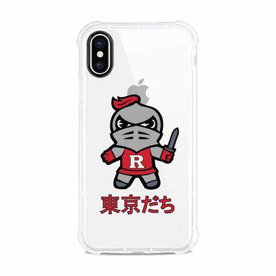 Tokyodachi Clear Tough Edge Phone Case Classic V1  iPhone x