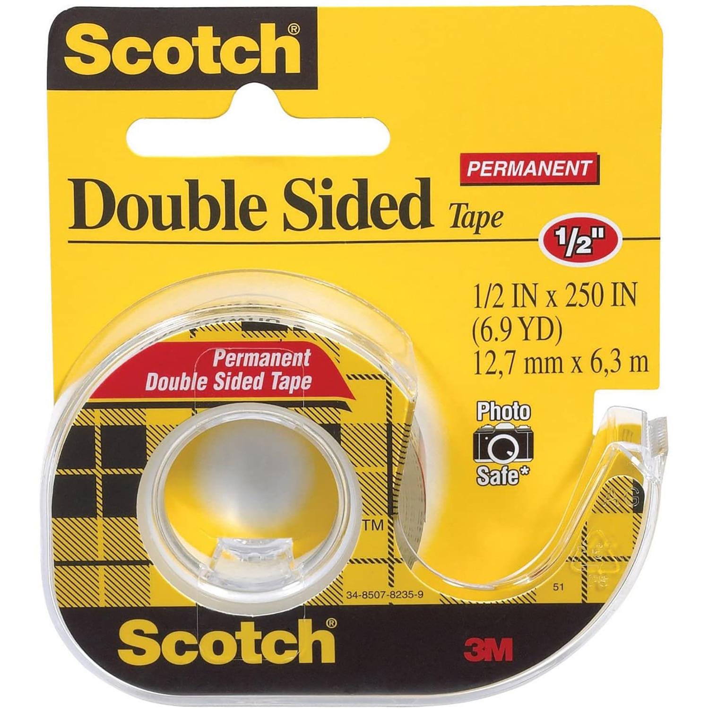 3M Scotch DoubleSided Tape 12 x 250