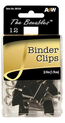 A&W Small Binder Clips