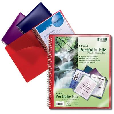 Better 8 Pocket Presentation Folder