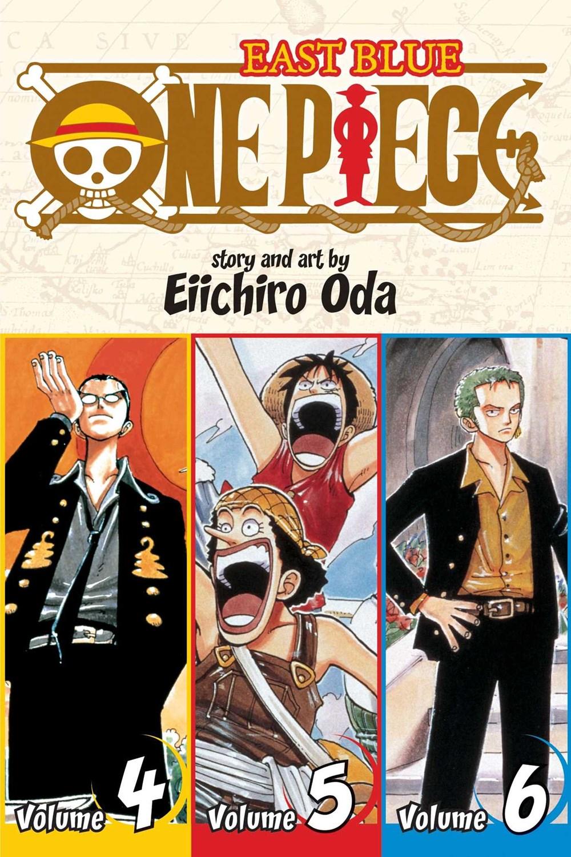 One Piece (Omnibus Edition)  Vol. 2  2: Includes Vols. 4  5 & 6