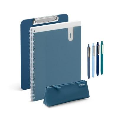 Back to School Kit, Slate Blue