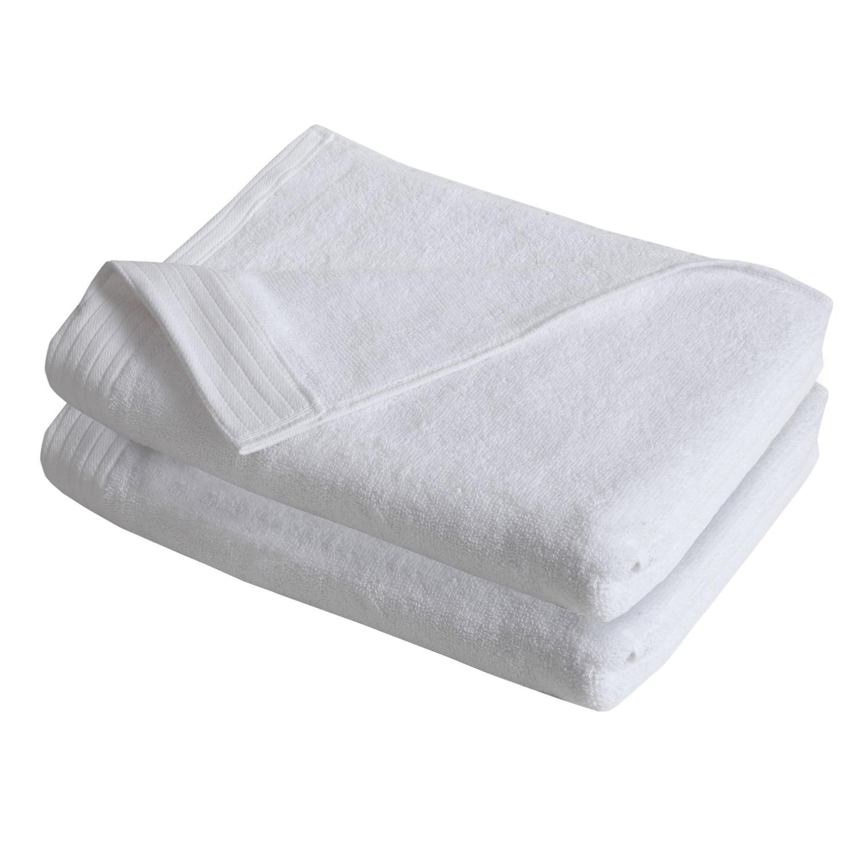 IZOD Everyday White 4 Pack Bath Towels