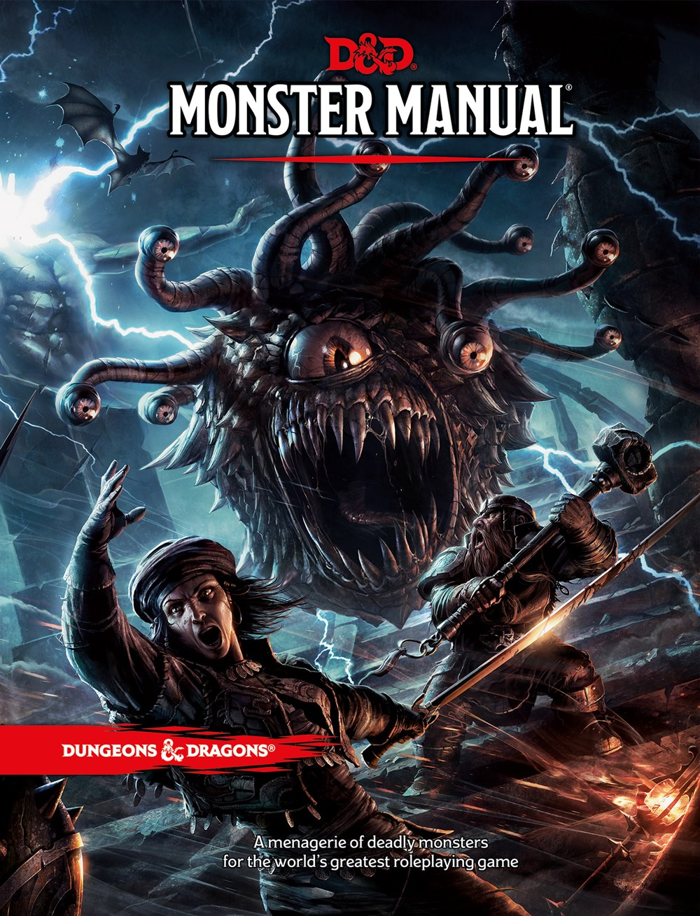 Dungeons & Dragons Monster Manual (Core Rulebook  D&d Roleplaying Game)