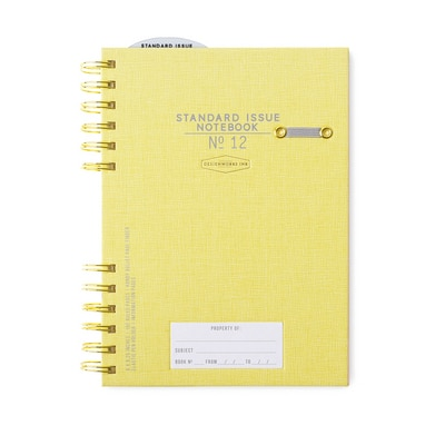 Standard Issue Notebook No. 12 Ochre