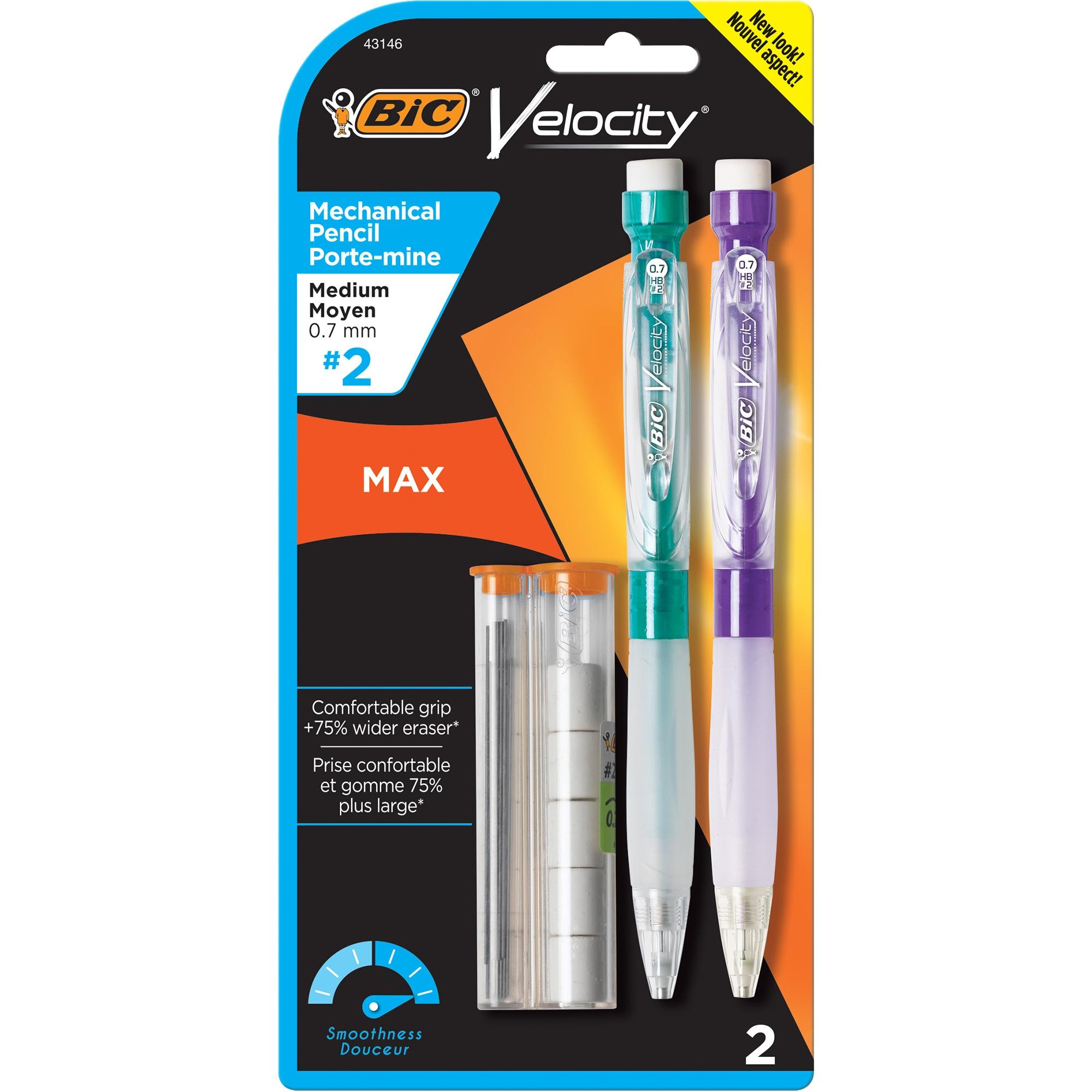 Bic Veloce Max .7mm 2pk Mech Pencil