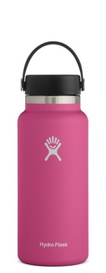 Hydro Flask 32 oz. Wide Mouth with Flex Cap Carnation