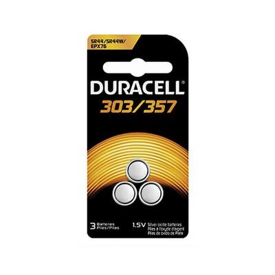 3Pk 303/357 Silver Oxide Button Batteries
