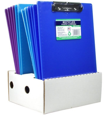 Saunders Plastic Clipboard With Low Profile Clip, Letter Size