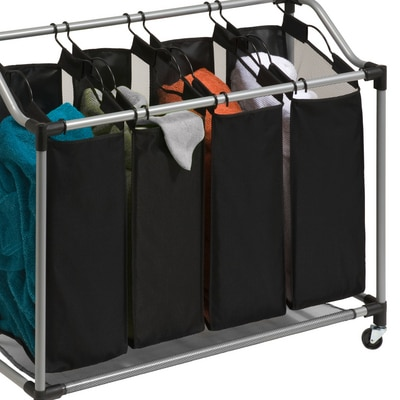 Deluxe Quad Sorter with Mesh Bags