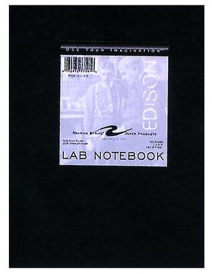 Chemistry Lab Book 5x5 Black 60 Sheets