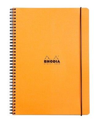 "Rhodia Elastic Original Notebook 9"" x 12"""