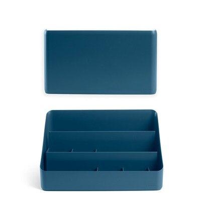 Wall & Desk Organizer Set Blue