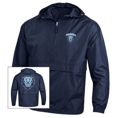 Columbia University Champion Half-Zip Packable Jacket