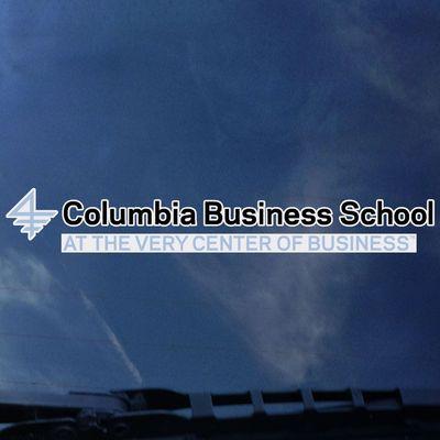Columbia University Color Shock Auto Decal
