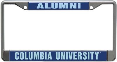 Columbia University Acrylic License Plate Frame