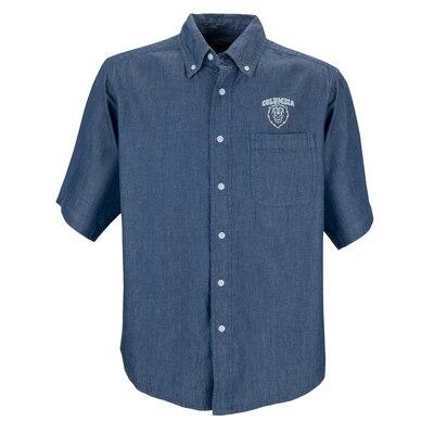 Columbia University Men's Short Sleeve Hudson Denim Shirt