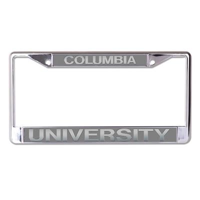 Columbia University Stockdale Acrylic License Plate Frame
