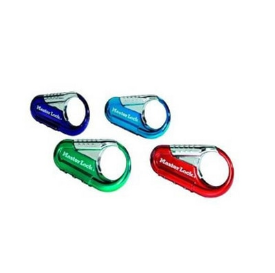 Master Lock 1548DCM Set Your Own Combination Backpack Lock, Assorted Colors