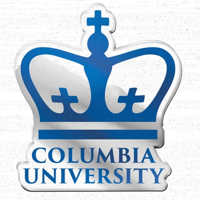 Columbia University Acrylic Emblem