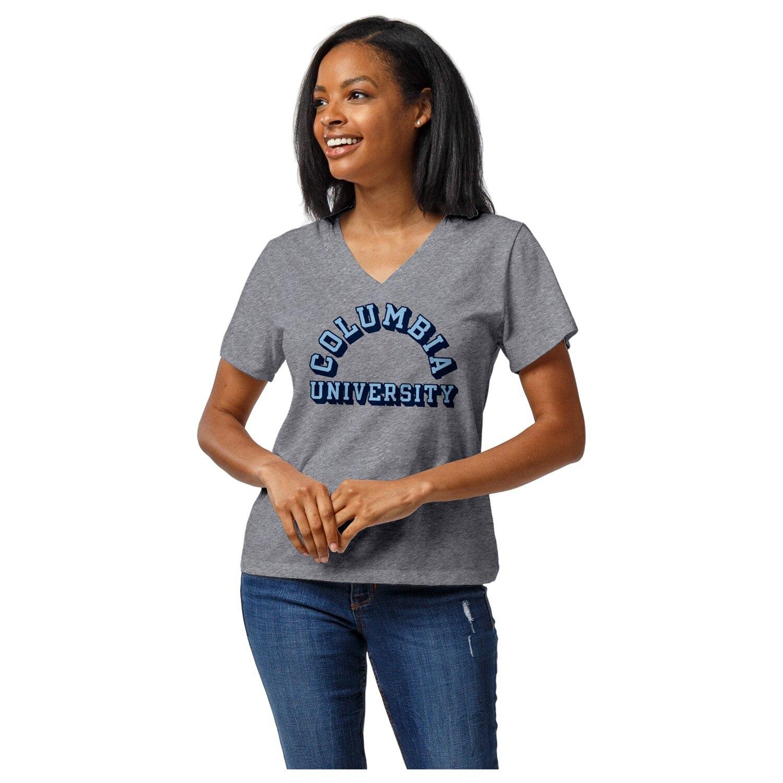 Columbia University WOMENS INTRAMURAL BOYFRIEND V-NECK T-SHIRT