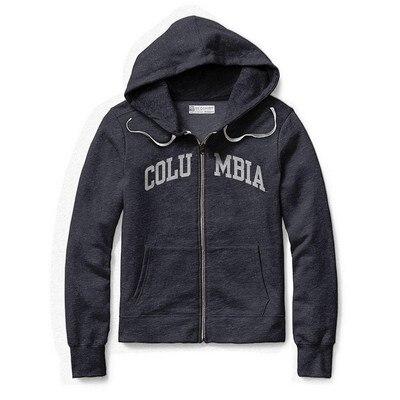 Columbia University Womens Classic Full Zip Hoodie
