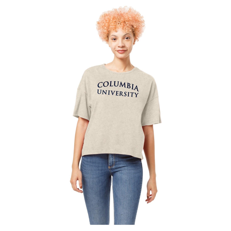 Columbia University Short Sleeve Crew T Shirt