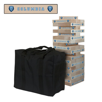 Columbia University Lions Giant Wooden Tumble Tower Game