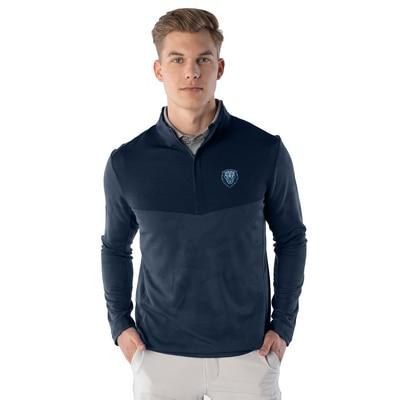 Columbia University Insignia Logan Quarter Zip Sweatshirt