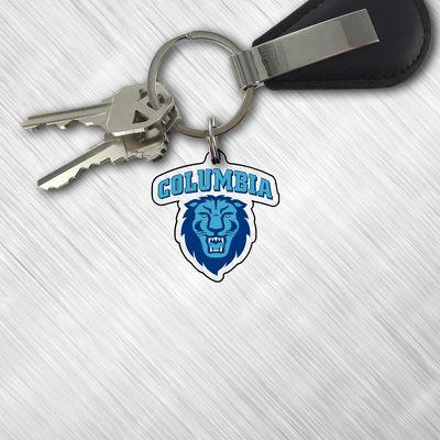 Columbia University Clear Acrylic Key Tag
