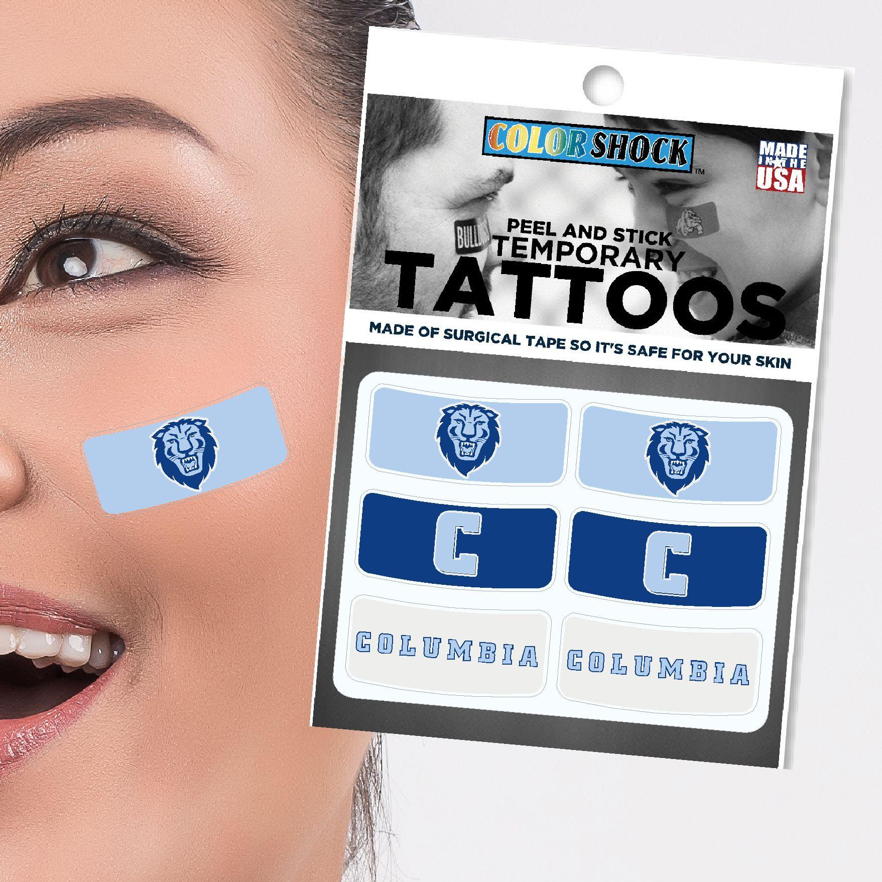 Columbia University Face Tattoos