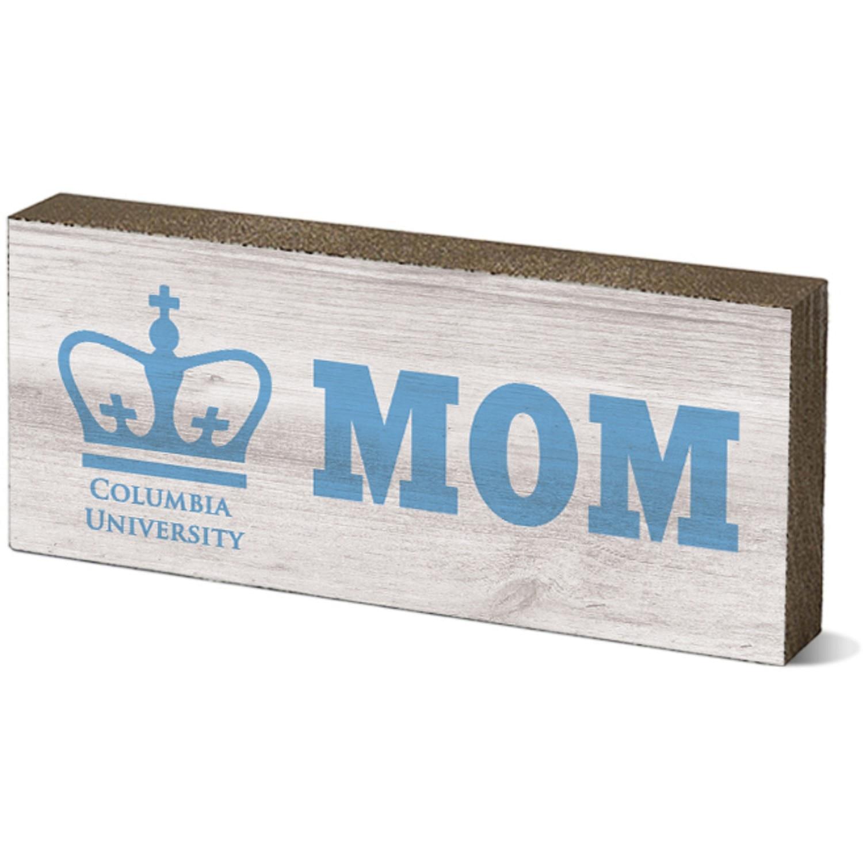"Columbia University 6"" Wood Tabletop Sign"