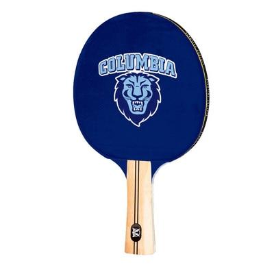 Columbia University Lions Table Tennis Paddle Logo Design