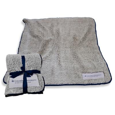 Columbia University Frosty Fleece Blanket