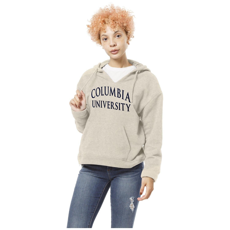 Columbia UniversityPULLOVER V NECK HOOD