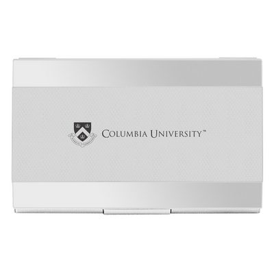 Columbia University Carbon Fiber Business Card Holder