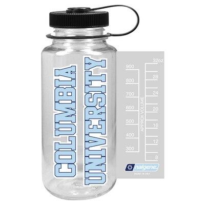 Columbia University Nalgne 32oz Triton Wide Mouth Water Bottle