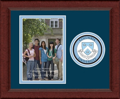 Columbia University Vertical Logo Photo Frame