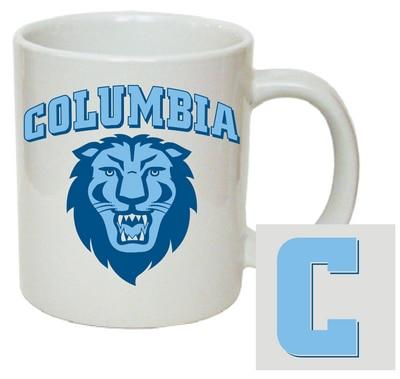 Columbia University 11oz Ceramic Coffee Mug