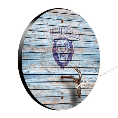 Columbia University Lions Weathered Design Hook and Ring Game