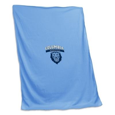 Columbia University Sweatshirt Blanket (Tackle Twill)