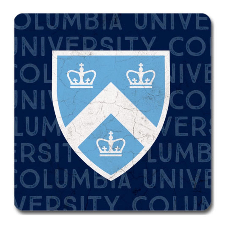 "Columbia University 4"" x 4"" Ceramic Coaster"
