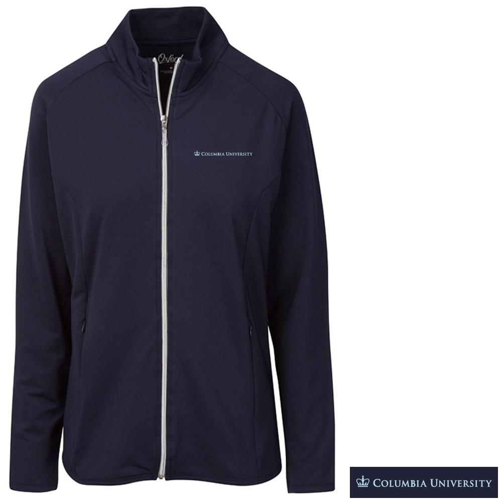 Columbia University Shiloh Long Sleeve Full Zip Jacket