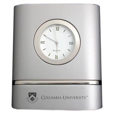 Columbia University Two-Tone Desk Clock