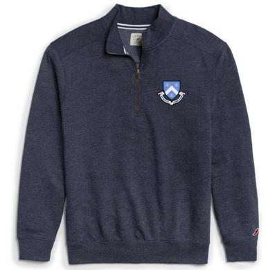 Columbia University League Heritage Triblend Quarterzip Pullover